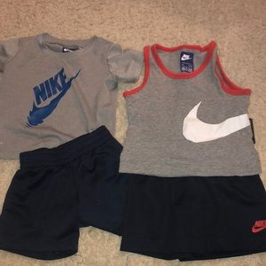 Two new with tags Nike outfits!